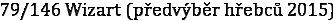 79/146 Wizart (předvýběr hřebců 2015)