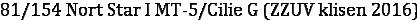 81/154 Nort Star I MT-5/Cilie G (ZZUV klisen 2016)