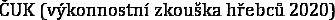 ČUK (výkonnostní zkouška hřebců 2020)