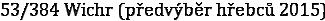 53/384 Wichr (předvýběr hřebců 2015)