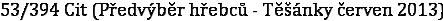 53/394 Cit (Předvýběr hřebců - Těšánky červen 2013)